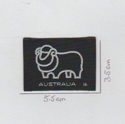 AUSTRALIA  No.16  Brand New VINTAGE  MATCHBOX  SEW ON CLOTH PATCH