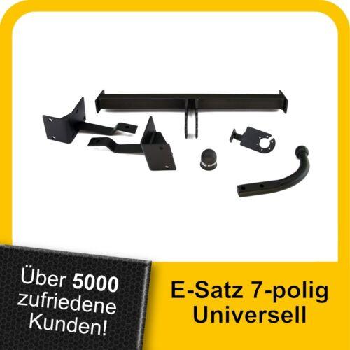 Für Fiat Bravo II 5-Tür 07-15 Kpl AHK Anhängerkupplung starr+ES 7p uni