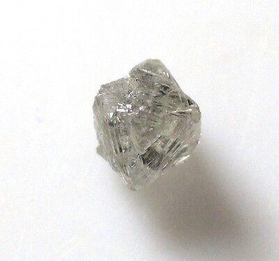 0.37 ct Diamond octahedron crystal - natural - Yakutia, Russia