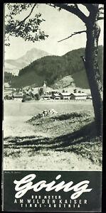 tour-Prospekt-Going-am-Wilden-Kaiser-um-1955