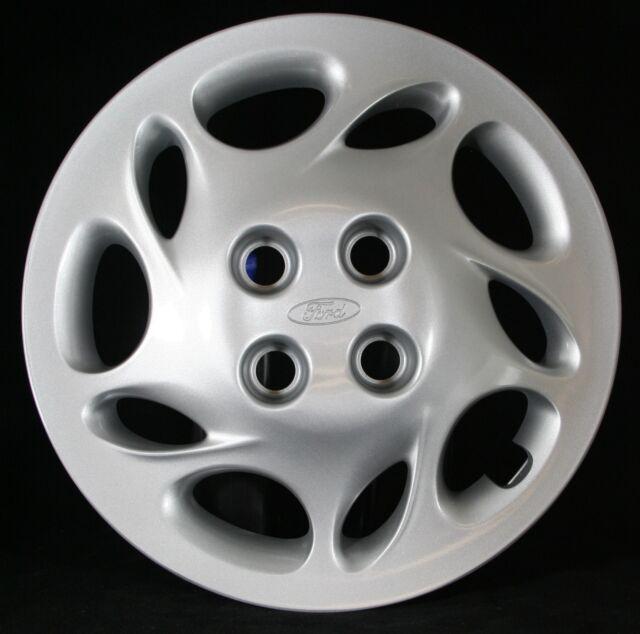 1998 1999 2000 Ford Escort wheel cover, OEM # F8CZ1130AB, Hollander # 7012