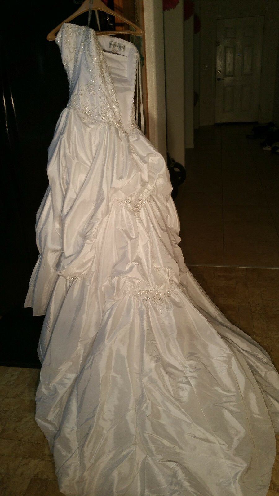 *MAGGIE SOTTERO*VICTORIANA*Imperial Gown {WEDDING DRESS} Style No.J1082-Size10