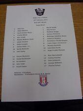 28/02/2014 Stoke City U21 v Fulham U21  (single sheet). Thanks for viewing our i