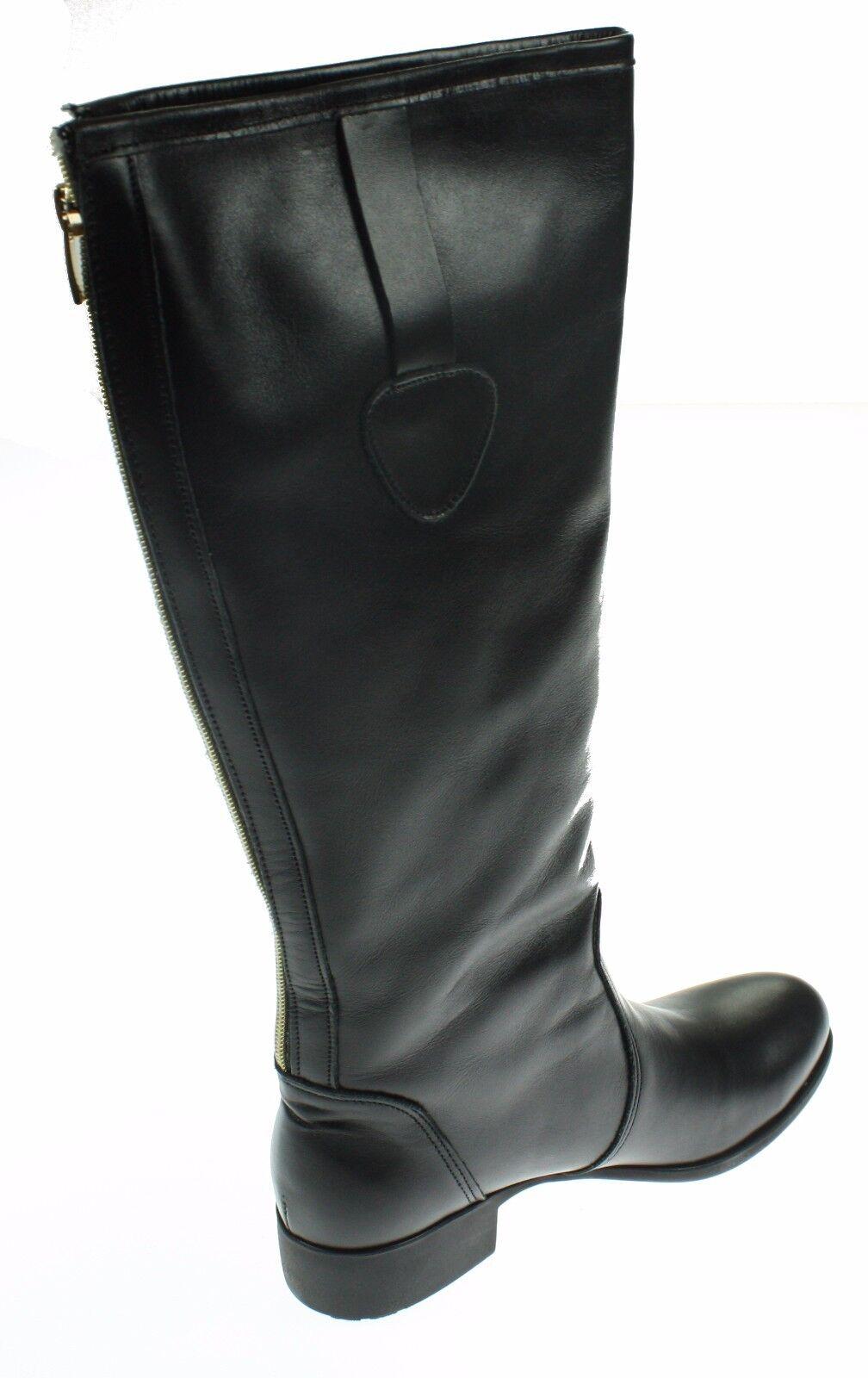 Zapato Zapato Zapato Damen Leder Stiefel, Größe 37, schwarz    580833