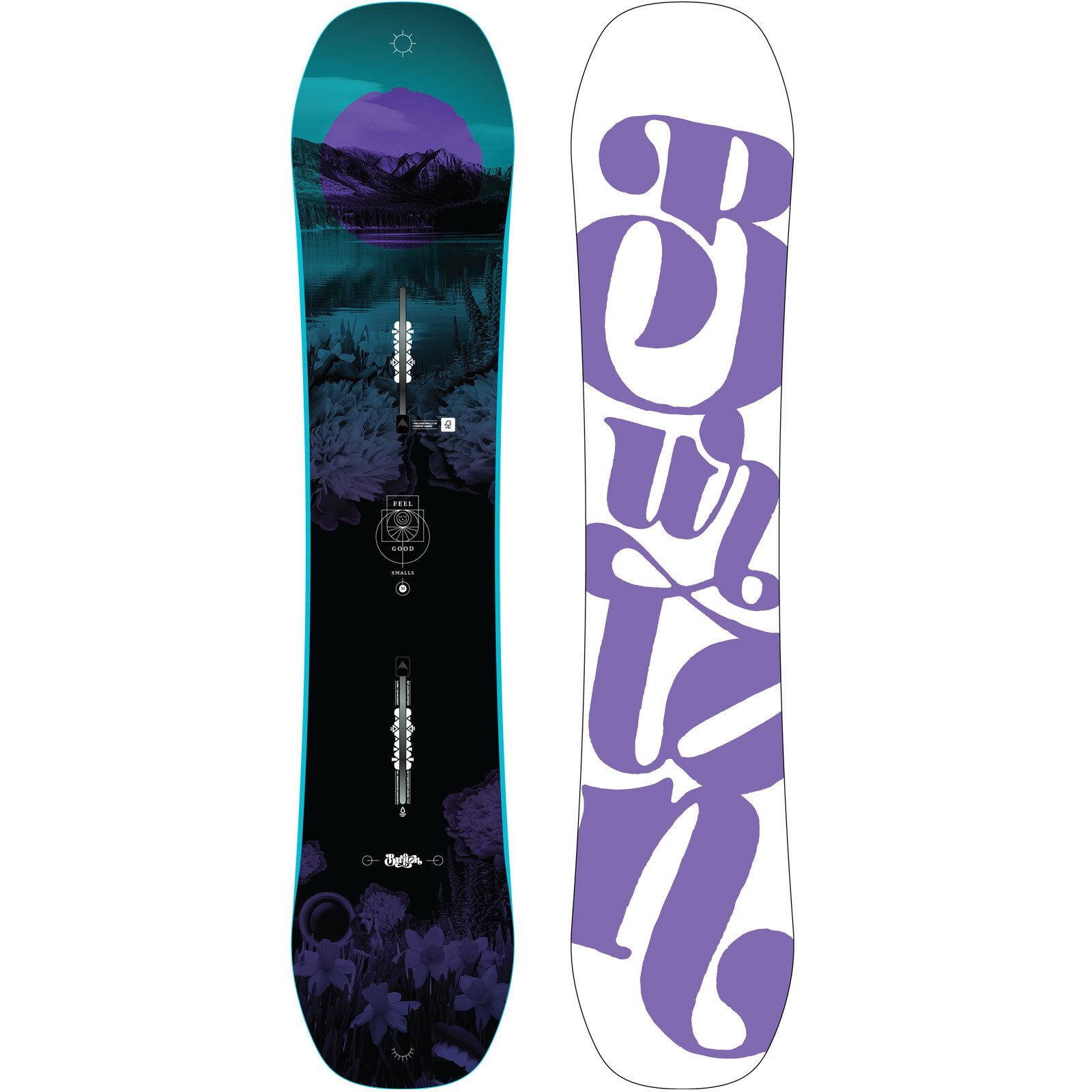 Burton Burton Burton Feelgood Smalls Kinder Snowboard Freestyle Freeride Mädchen 2018-2019 NEU d69f81