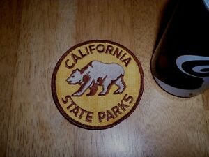 STATE OF CALIFORNIA - STATE PARKS, EMBROIDERED SHOULDER PATCH, VINTAGE
