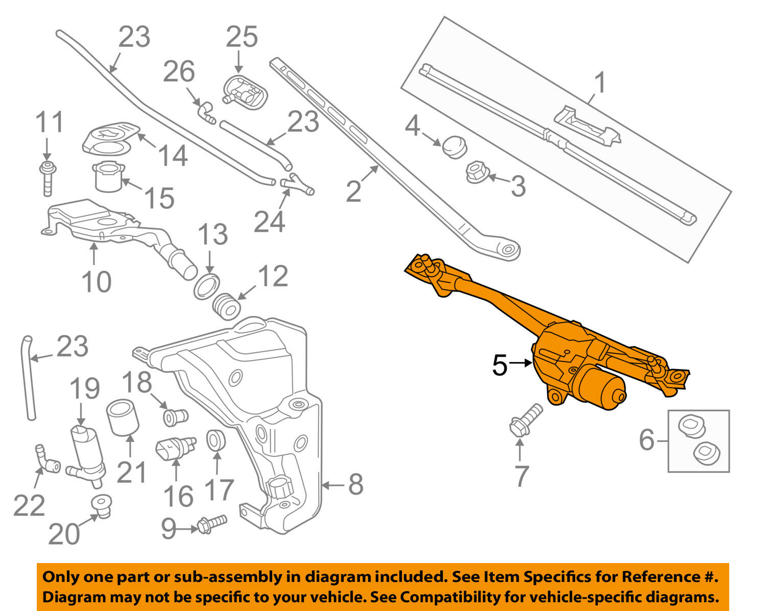 Replacement Parts Blue Print ADG00367 wiper motor left-hand drive ...