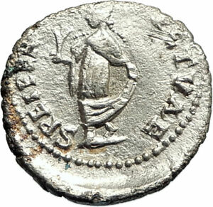 ELAGABALUS-219AD-Antioch-Silver-Authentic-Ancient-Roman-Coin-SPES-HOPE-i76921