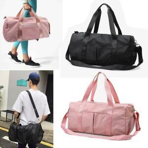 Details About Men Women Sport Duffle Bag Travel Handbag Weekend Gym Yoga Luggage