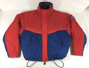 American-Eagle-Outfitters-Ski-Snowboard-Jacket-With-Liner-Red-amp-Blue-Men-039-s-Large