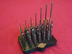 GRACE-USA-27-PC-ROLL-PIN-AND-HOLLOW-PUNCH-SET-GUNSMITH-AND-MACHINIST