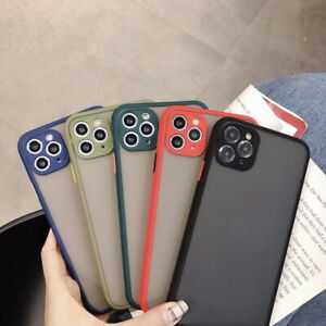 For-iPhone-11-Pro-Max-Frosted-Matte-Hybrid-Case-Cover-New-Upgrade-Camera-Protect