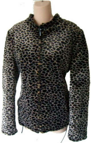 Groen Fur M Leopard Reversible S Faux Snake Jas Jacket Leren Python Racing QCoEdBWrxe