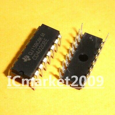 Divider 10pcs CD4040BE CD4040 DIP16  Ripple Carry Binary