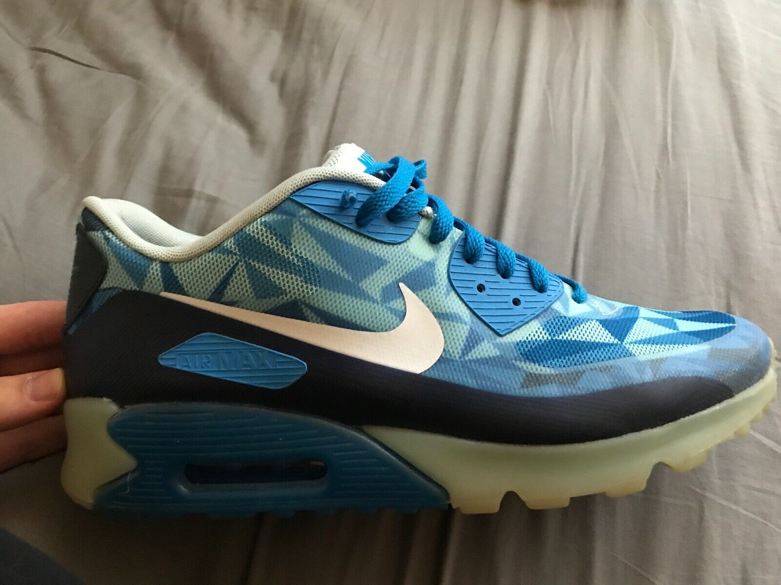 Nike Air Max 90 Ice  Barely bluee  Men's 11.5