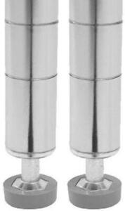 Seville Classics Ultradurable Commercial Grade Steel Shelving Poles 72 H X 1 Ebay