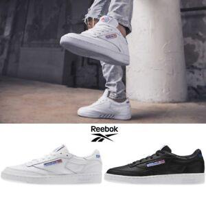 0e93d7ddc63d3b REEBOK Classic Club C85 S0 Casual Sneakers Shoes Black BS5213 US MEN ...