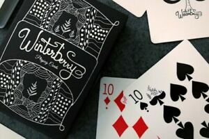 Winterberry-Playing-Cards-Deck-Got-Magic-Custom-Limited-Edition-New-Sealed-Poker