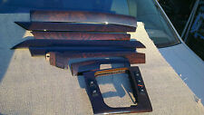 BMW 3 Series E46 Real Wood Interior Dash Trim Set 330 328 325  2 Switch Trims