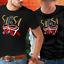 Salsa T-shirt noir unisexe Chemise S-3X Danse Salsa mélomane Bongo percussion