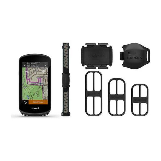Garmin Edge 1030 Plus Bundle Bike Cycling GPS Computer UK Version