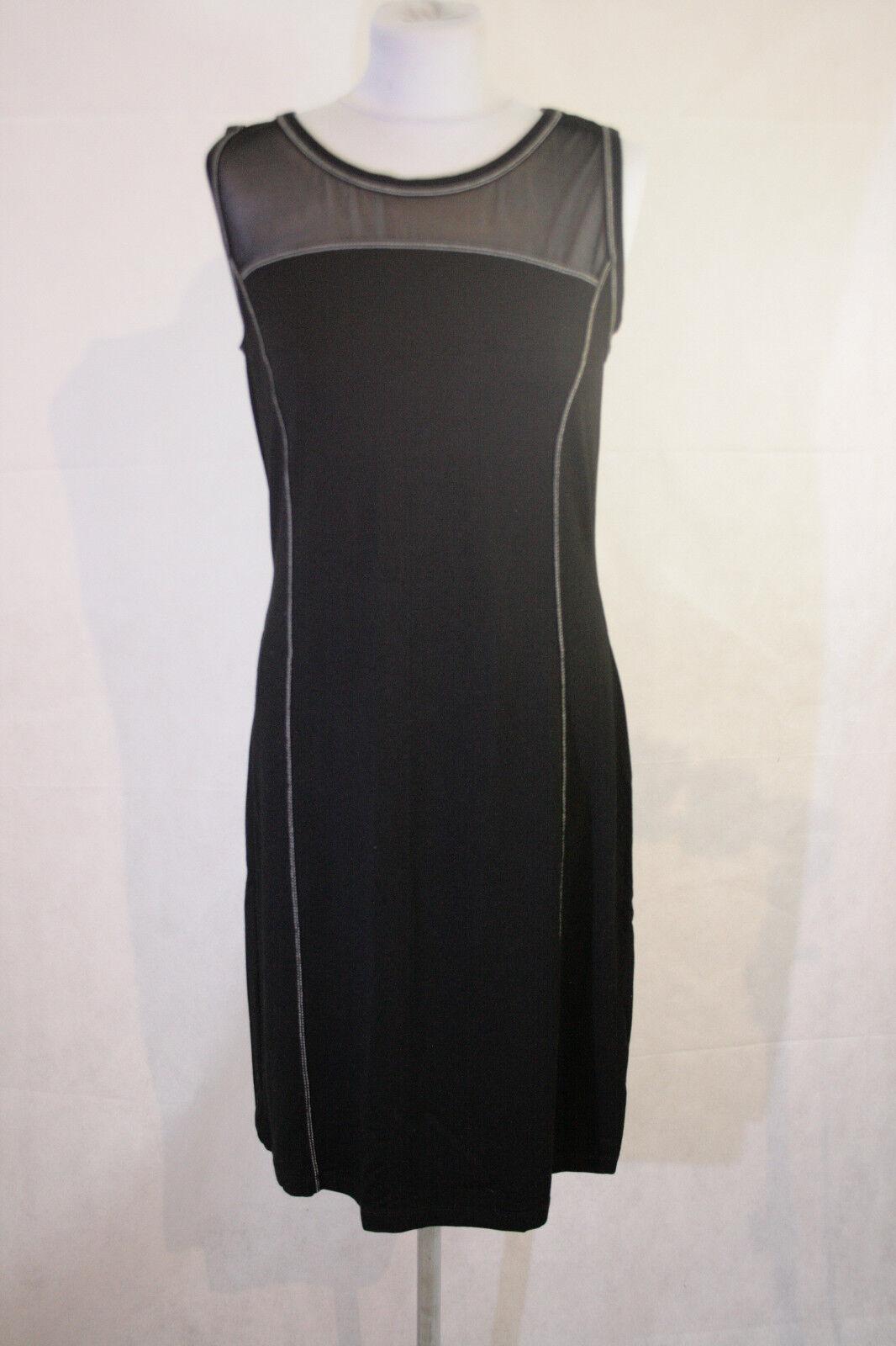 Schönes Sant Blau Kleid Gr. 42  97 97 bitte messen