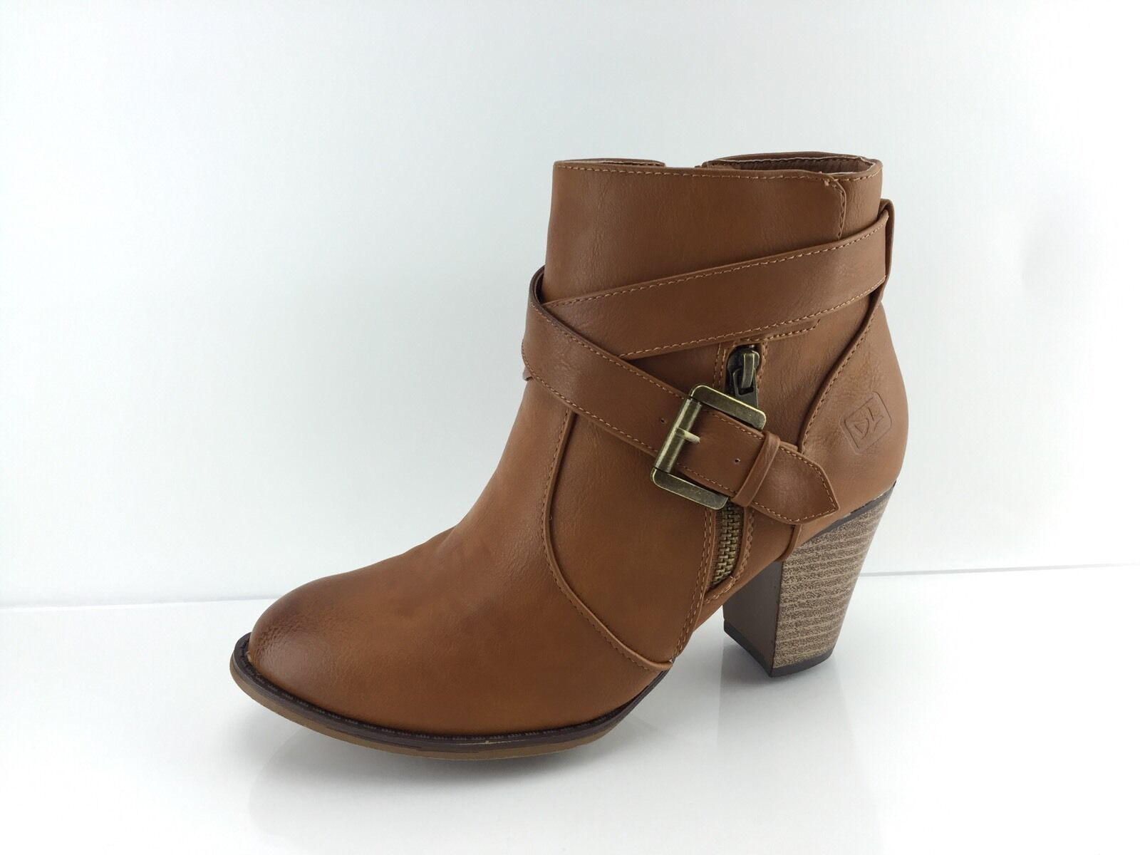 Dirty Laundry Women's Brown Ankle Boots 8