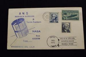 Espacio-Cubierta-1974-Maquina-Cancelado-Ans-Research-Satelite-Launch-Vandenberg