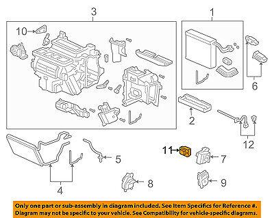 Genuine Honda Recirculating Motor 79350-SDA-A01
