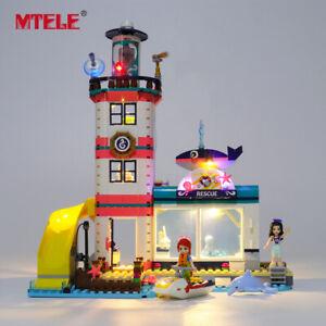 LED-Light-Up-Kit-For-LEGO-41380-Friends-Lighthouse-Rescue-Center-Lighting-Set