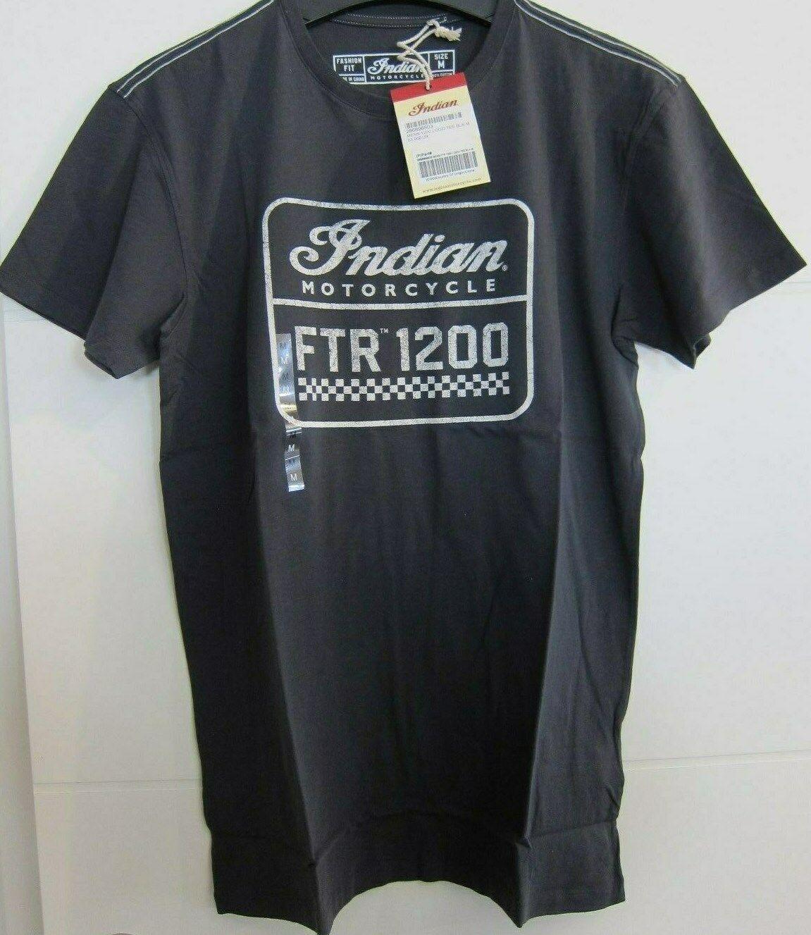 INDIAN Motorcycle Shirt T-Shirt grau Indian FTR FTR FTR 1200 NEU  286896503 Gr. S  | Attraktive Mode  617a4c