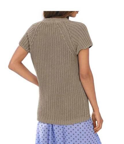 """/""""Ashley Brooke/"""" Damen Designer-Strickjacke Grobstr.Taupe Gr.38-42 NEU UVP 49,90€"""