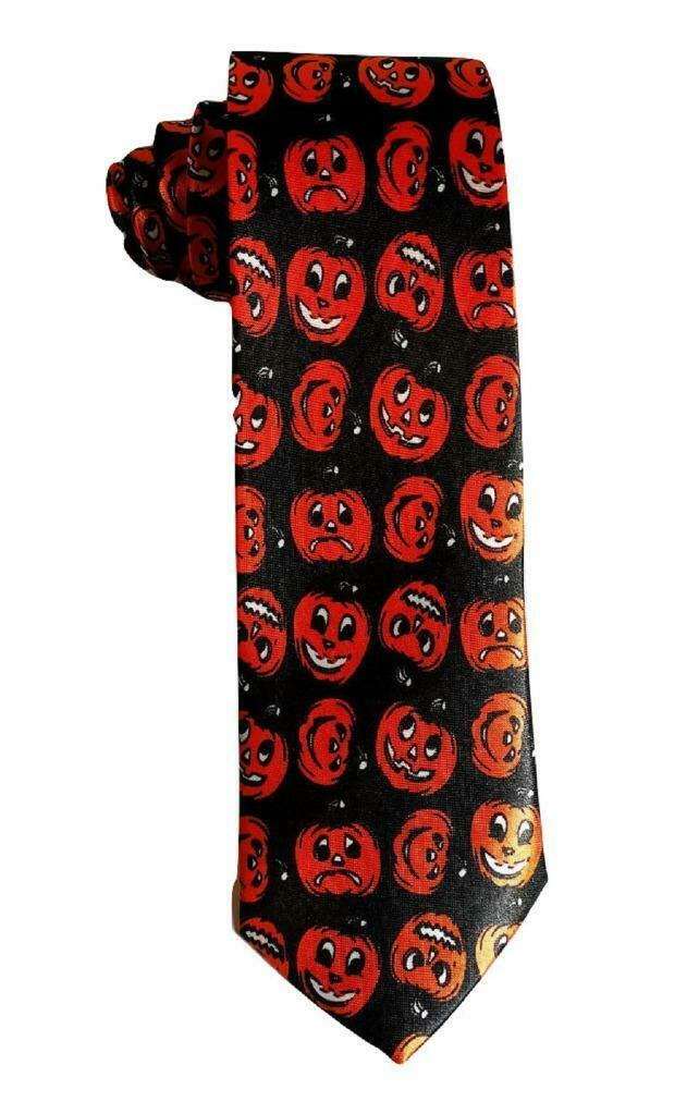 Krawatte Kürbis Kostüm Party Halloween