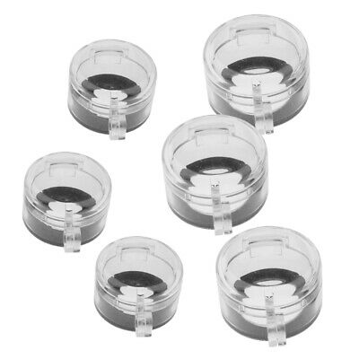 30/&23mm 6Pcs Universal LOTO Wall Switch Cover Oven Cooker Gas Hob Key Knob