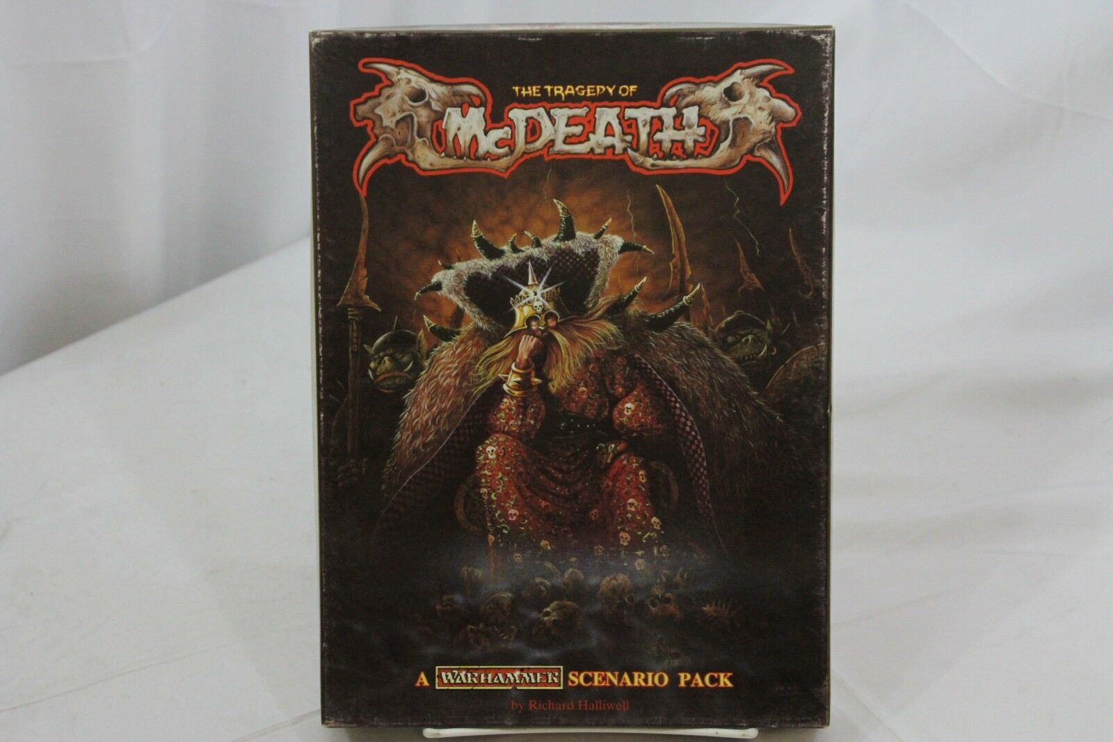 Warhammer The Tragedy of McDeath & PIN Box Set Complete 810021 RPG AD&D