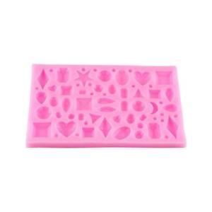 Gem-Diamond-Jewel-Silicone-Mould-Mold-Sugar-Isomalt-Fondant-Edible-Decor-Gift-UK