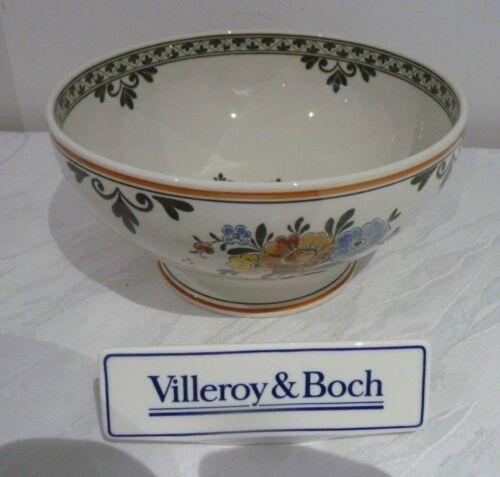 Boch Alt Amsterdam Schüssel auf Fuss 18,5 cm V/&B Villeroy u