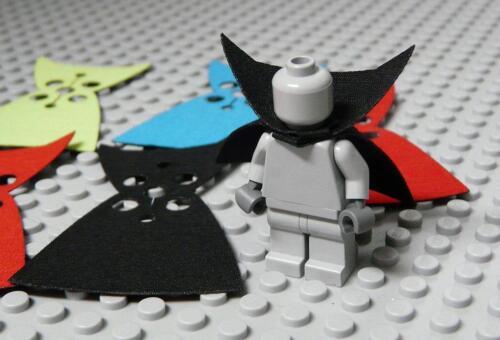 6PC Bulk Pack CUSTOM Capes For LEGO Minifig Vampire Cape Body Wear