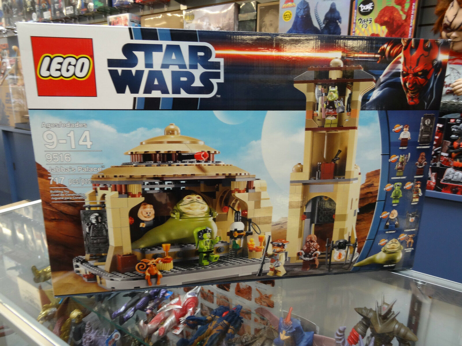 LEGO Star Wars 9516 Jabba's Palace New Seal In Box