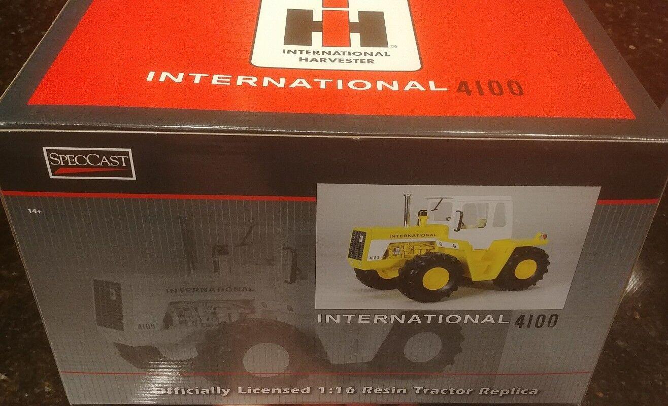 1 16 IH International Harvester 4100 4wd Tracteur W  Taxi, Spec Fonte ,