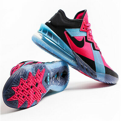 Nike Lebron XVIII Low EP 18 James Fireberry Black Blue Men Basketball CV7564-600    eBay