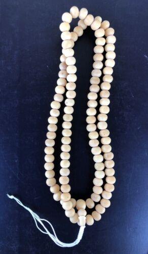 BUDDHIST Mala 108 Beads Prayer Meditation Necklace Thai Amulet MONK BLESSED