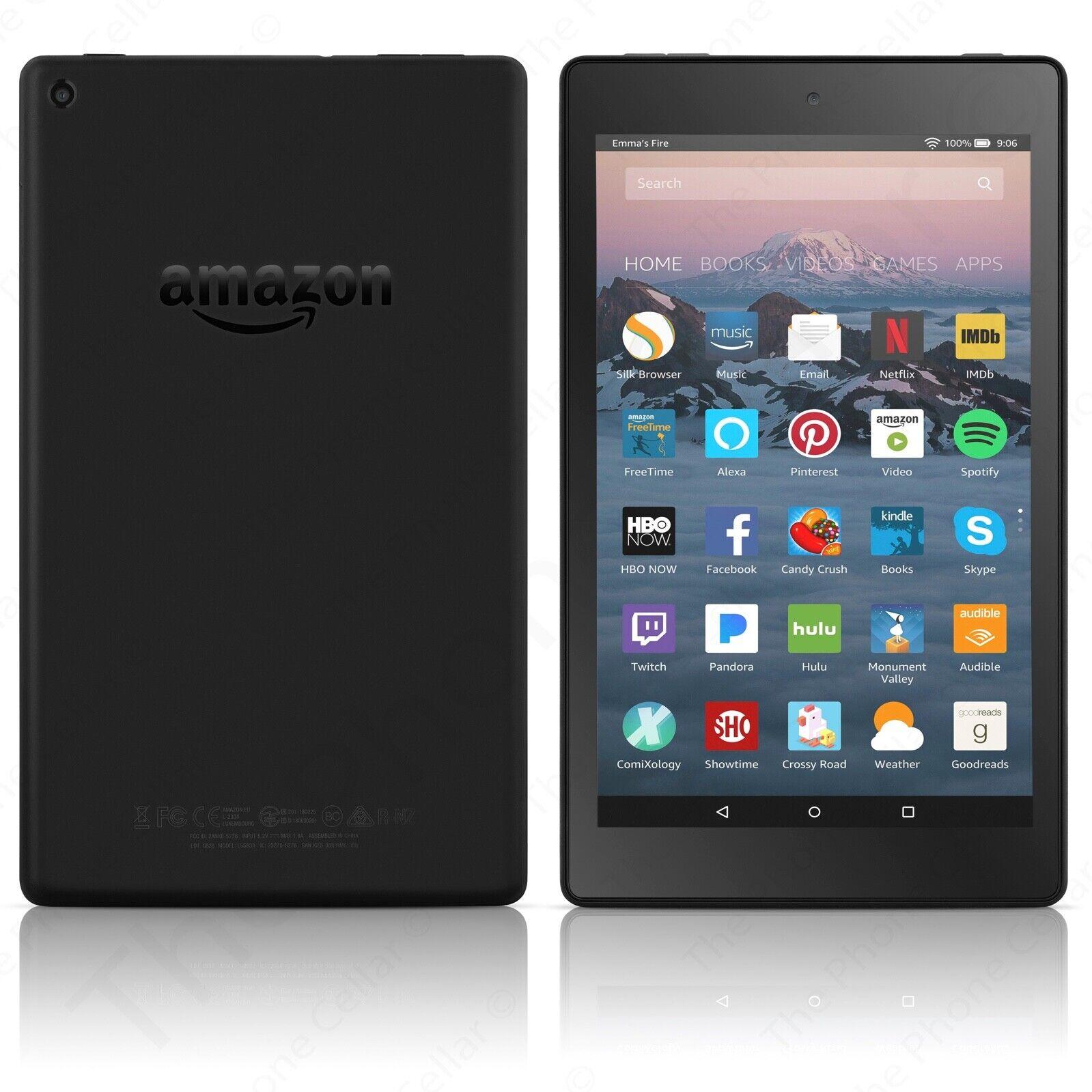 Amazon Kindle Fire HD 40 Tablet with Alexa, 40