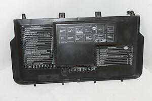 audi 80 90 b3 typ 89 fuse relay box cover # 893941801 / 893 941 ... audi 80 fuse box audi q2 fuse box ebay