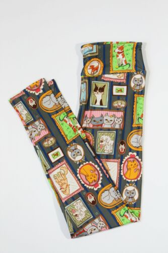 buttery soft sizes 2-30 Women/'s animal portrait leggings