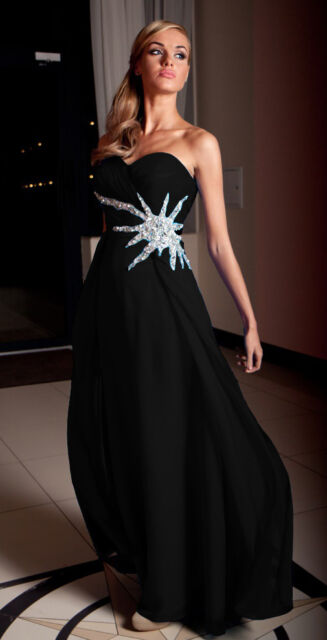 Long Party Evening Ladies Womens Formal Ball Gown Prom Bridesmaid Maxi Dress