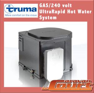 truma ultrarapid gas 240v electric hot water boiler b14. Black Bedroom Furniture Sets. Home Design Ideas