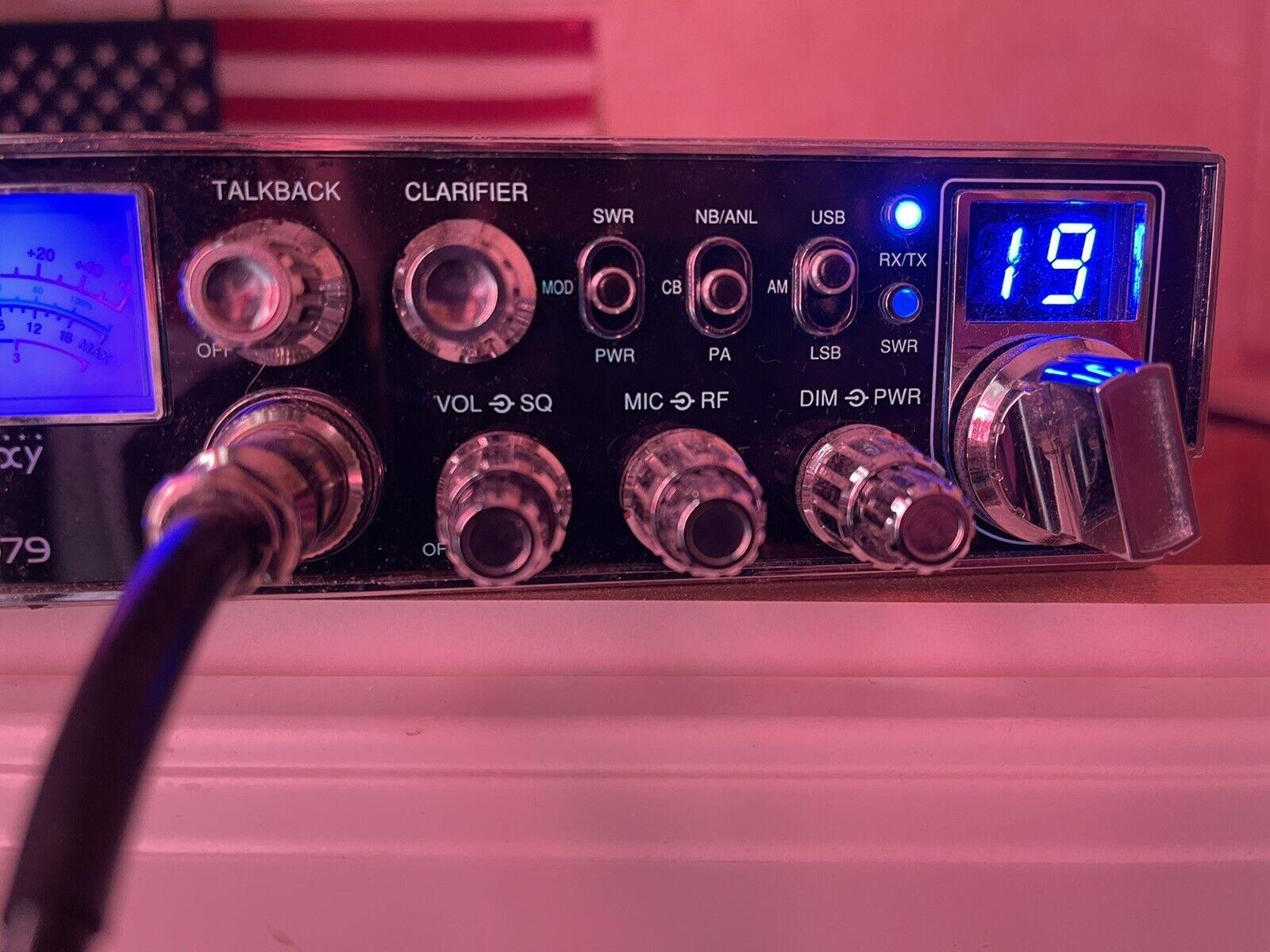 bboudreau03 GALAXY DX979 USB/AM/LSB CB RADIO. W/hand Held Mic