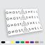 Adesivi in vinile Wall Stickers Prespaziati Ghost in the Shell Auto Notebook Pc
