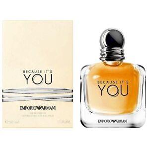 Armani De You Parfum Eau Detalles It´s Because Emporio 50ml kiPZXOu